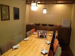 8名様用個室 テーブル席