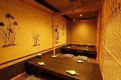 個室リニューアル!ごゆっくりと博多の食、お酒をお楽しみ下さい