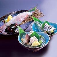 新鮮ないけすの地魚をお楽しみください