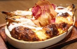 【大人気】こだわり島豆富 「豆富エビふわチーズのオーブン焼」
