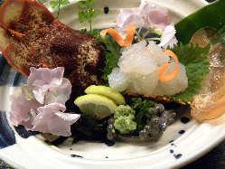 伊勢海老・セミ海老・夜光貝など高級食材もお問い合わせ下さい
