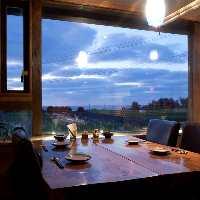 【美しい景色】 目の前に広がる絶景を眺めながらのお食事は格別