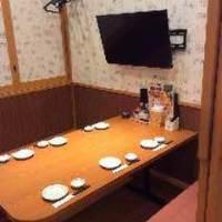 TV付き個室のファミリールーム☆