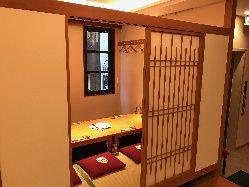掘りごたつ個室・テーブル席・大広間(最大88名可能)完備