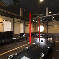 【オススメ】 和空間が広がる2階席は、大人数での宴会もOK