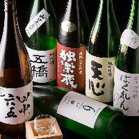 県外の方にも◎九州をはじめ、鶏料理に合う地酒が味わえます。