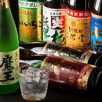 焼酎処・九州の銘酒を多種揃えております。鶏料理にもぴったり♪