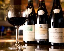 お肉に合うワインも多数ご用意しております。