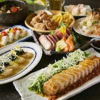 旬の食材にこだわった料理が勢揃い!味も見た目も楽しめます♪