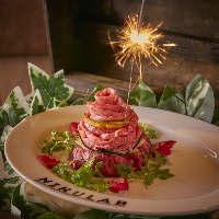 SNS映えする演出の数々◎誕生日には特製ケーキも♪