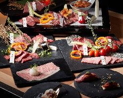 特別な日の食事や接待などのおもてなしに5種類のコースをご用意