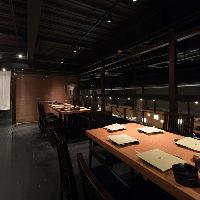 【空間】 接待や会食等シーンに応じたお席をご用意いたします