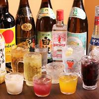 【単品飲み放題】 財布を気にせずお酒を飲みたい方におすすめ◎