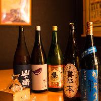 【日本酒】 日本各地の銘酒を揃えています!季節限定酒も◎