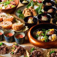 【宴会コース】 季節ごとに替わる献立!刺身、炉端に肉料理も◎