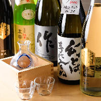 【日本酒】 九州を中心に全国より厳選の約30種!季節限定酒あり