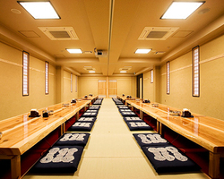 全室個室♪ 宴会場最大70名様まで収容可。
