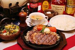 西新店のお勧めメニュー☆ 熟成リブロースステーキは一押し!