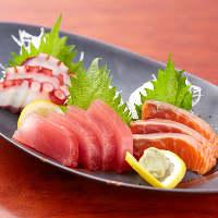 当店は魚の鮮度が違います!市場直送の獲れたてをご提供!