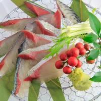 【魚料理】 毎日市場に足を運び九州の鮮魚を仕入れています