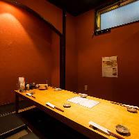 【個 室】 掘りごたつ席の完全個室は各種宴会におすすめです