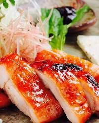 霧島産赤鶏の北京ダック風