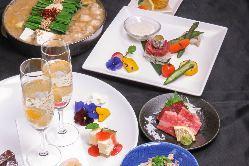 紅月人気メニューがお得なコース料理はクーポン利用で¥2,000~