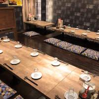 旬の素材を使用した季節ごとにかわる料理をご用意♪
