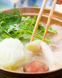 具材によって、特製スープの味が徐々に旨みを増す