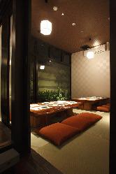 完全個室のお座敷も完備1部屋(最大10名)