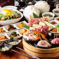 【コース】 銀しゃりが食べ放題とコスパ抜群のお得なコース