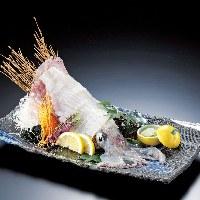【刺身】 市場直送の新鮮なイカは甘味と食感が格別です