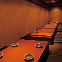 【空間】 ゆったり食事を満喫していただける掘りごたつ席