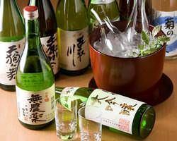 北陸の地酒を多数ご用意しております。