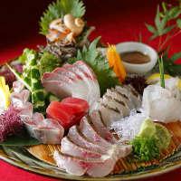 九州・玄界灘の新鮮な魚が自慢です!