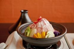 やんばる島豚アグーと島野菜のタジン鍋 ぜひご賞味ください