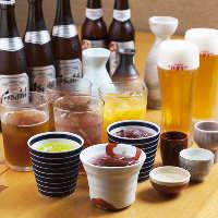 【ドリンク】 佐賀の地酒や限定酒などを取り揃えています。