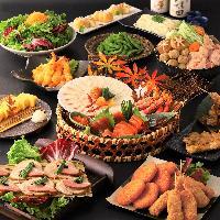 【料理】お刺身は、もちろん!ゆっくり仲間と語り尽くして下さい