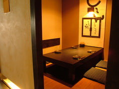 ●人気の堀ごたつ個室です!