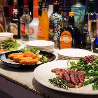貸切パーティーはビュッフェスタイルでお料理を楽しめます!