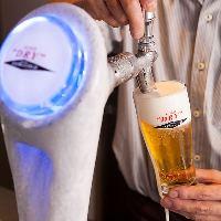 焼肉には欠かせない氷点下の生ビールエクストラコールド