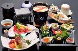 高級食材フルコース 嵐山