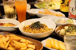★平日限定★2H30種以上の手作り料理が[食放&飲放]コース2000円