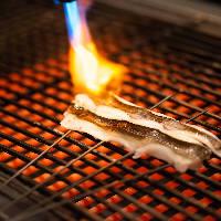 【炙り焼き】 厳選吟味した食材を絶妙な火加減で焼き上げます