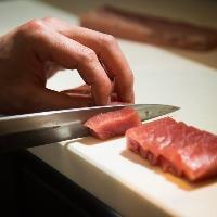 【食材】 市場から仕入れる旬魚に大分の誇り・豊後牛や冠地鶏