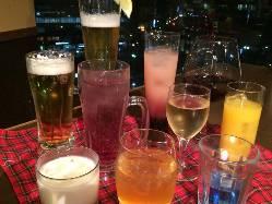 生ビールは300円(税別)♪ 他多数ドリンクご用意してます!