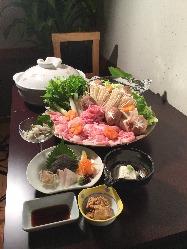 お得な魚料理のコースも充実◎4,000円(税抜)~ご用意!