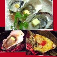 オリジナル焼き牡蠣2味!牡蠣好きはトライ!!