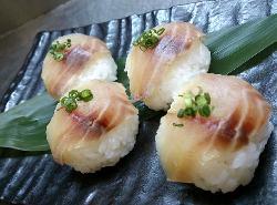 <要予約>スモーク刺身のてまり鮨