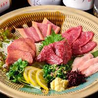 【熊本産馬刺し】 肉厚で新鮮!焼酎はもちろん日本酒にも最適